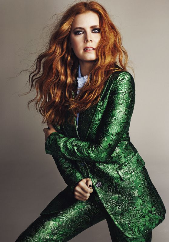 Amy Adams - Marie Claire Magazine UK April 2016 Issue