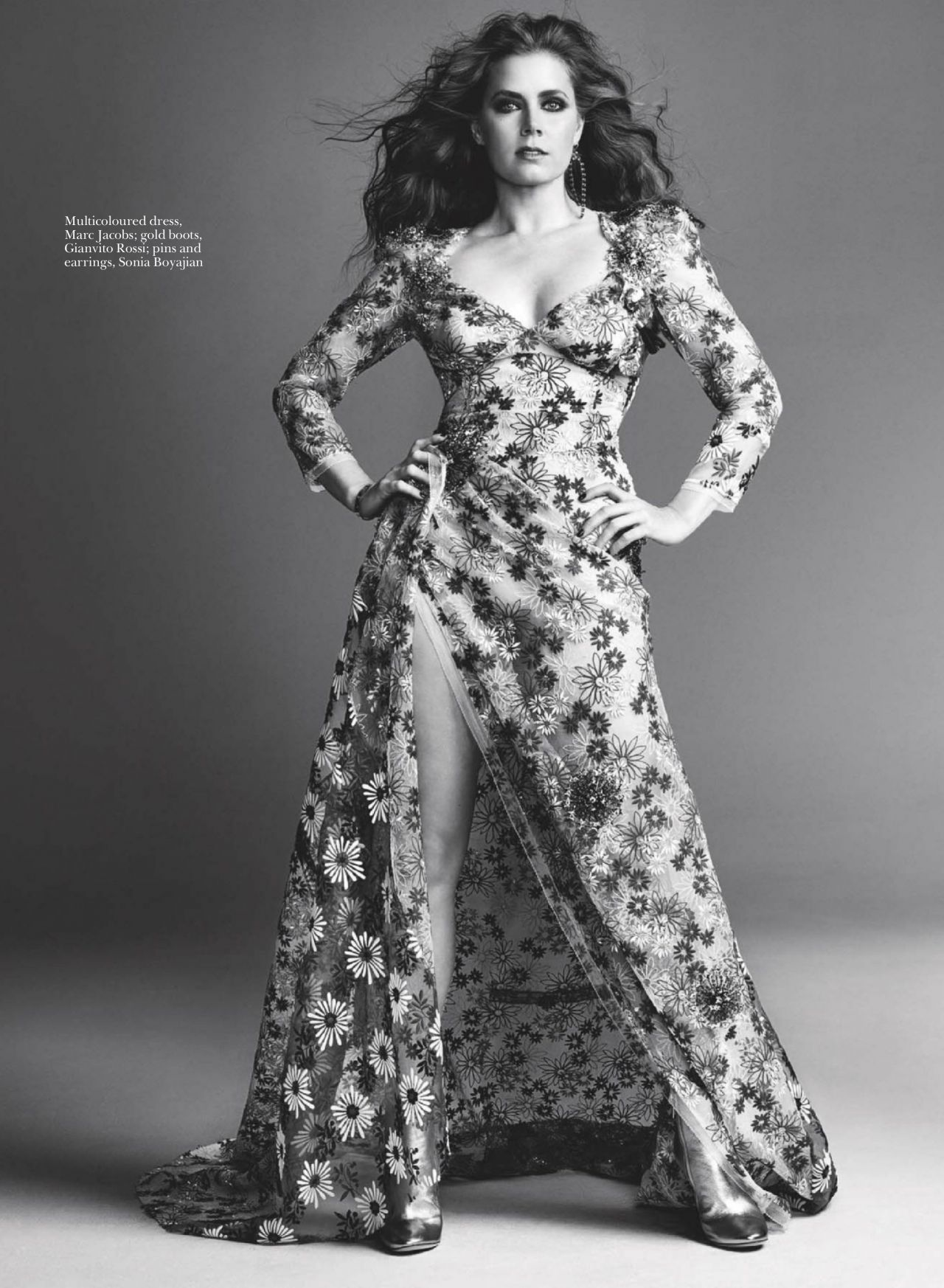 Amy Adams Marie Claire Magazine Uk April 2016 Issue