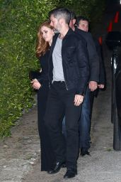 Amy Adams Night Out Style - Leaving Craig
