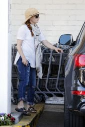 Amy Adams - Shopping in Los Angeles 2/21/2016