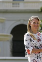 Angelique Kerber - Photo Shoot With Her Australian Open Trophy at Government House in Melbourne 1/31/2016