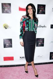 Angie Harmon - An Evening With the Woman Code Event in Los Angeles, January 2016