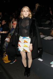 AnnaSophia Robb - Jeremy Scott Fashion Show in New York City, 2/15/2016