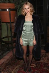 AnnaSophia Robb - Kate Ermilio Fall 2016 Fashion Show in NYC 2/11/2016