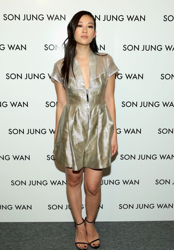Arden Cho - Son Jung Wan Fashion Show - NYFW 2/13/2016