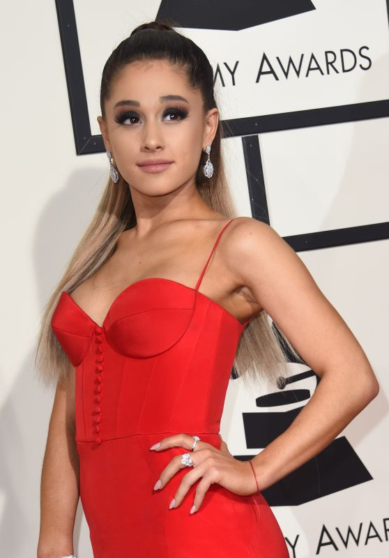 Ariana Grande – 2016 Grammy Awards in Los Angeles, CA