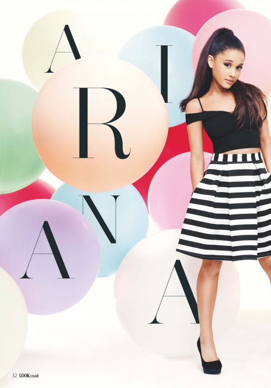 Ariana Grande - Look Magazine UK February 2016 Issue