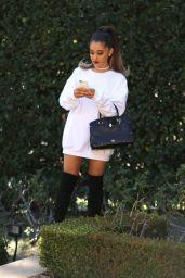 Ariana Grande - Phone Call Before the Grammys 2/15/2016