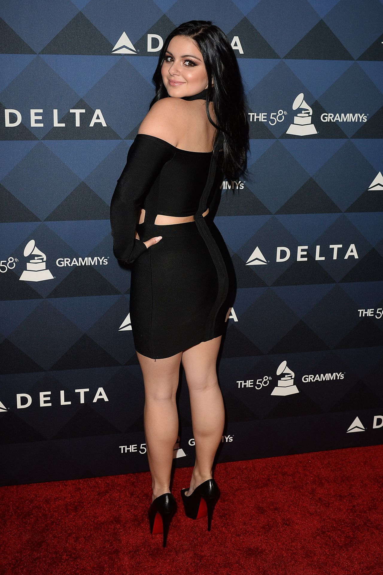 784b58177a Ariel Winter - Delta Airlines Pre-Grammy 2016 Party