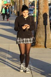 Ariel Winter in Mini Skirt - Out in Studio City 2/4/2016
