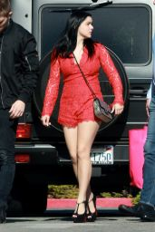 Ariel Winter Shows Off Her Legs - Out in Los Angeles, February 2016