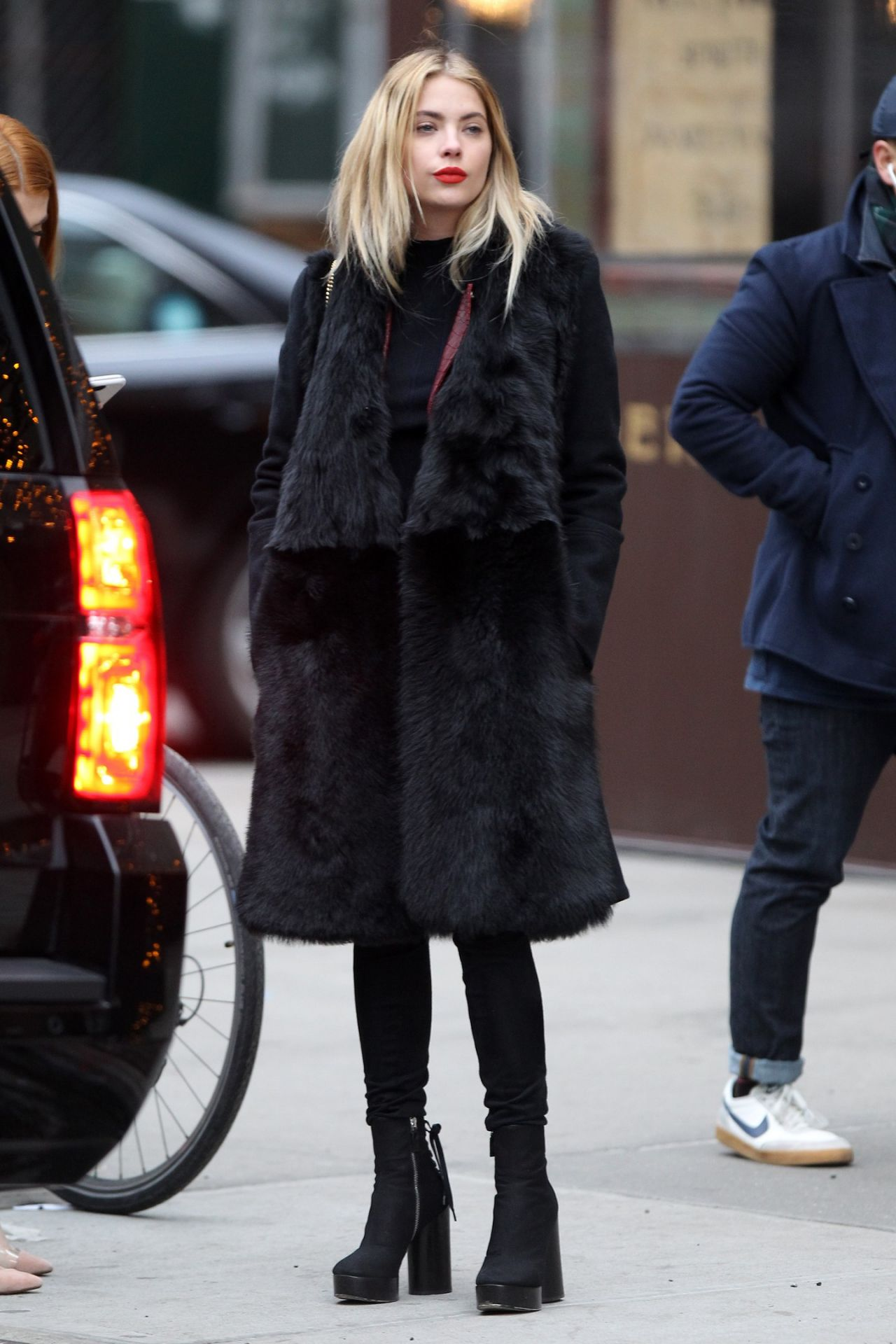 Ashley Benson   Out in New York City 2 20 2016. Benson   Out in New York City 2 20 2016
