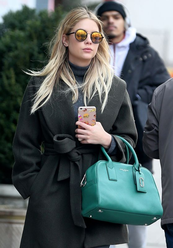 Ashley Benson - Out in SoHo, New York City, 2/19/2016