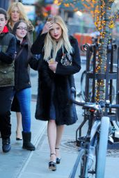 Ashley Benson Style - Out in Manhattan, New York 2/18/2016