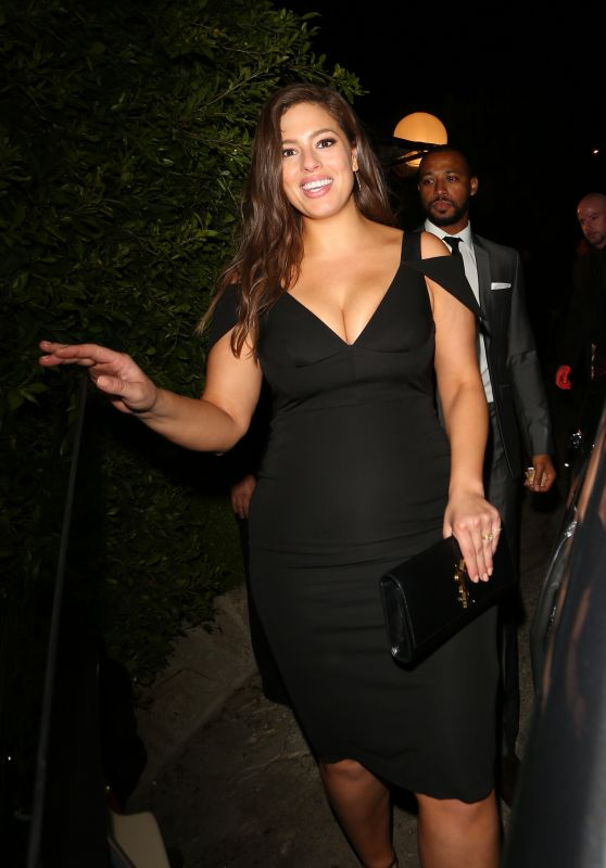 Ashley Graham - Leaves A Pre-Oscar Party in Los Angeles, CA 2/26/2016