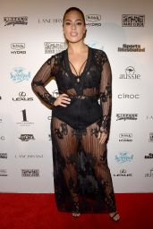 Ashley Graham – SI Swimsuit 2016 – Swim BBQ VIP in Miami, FL 2/17/2016
