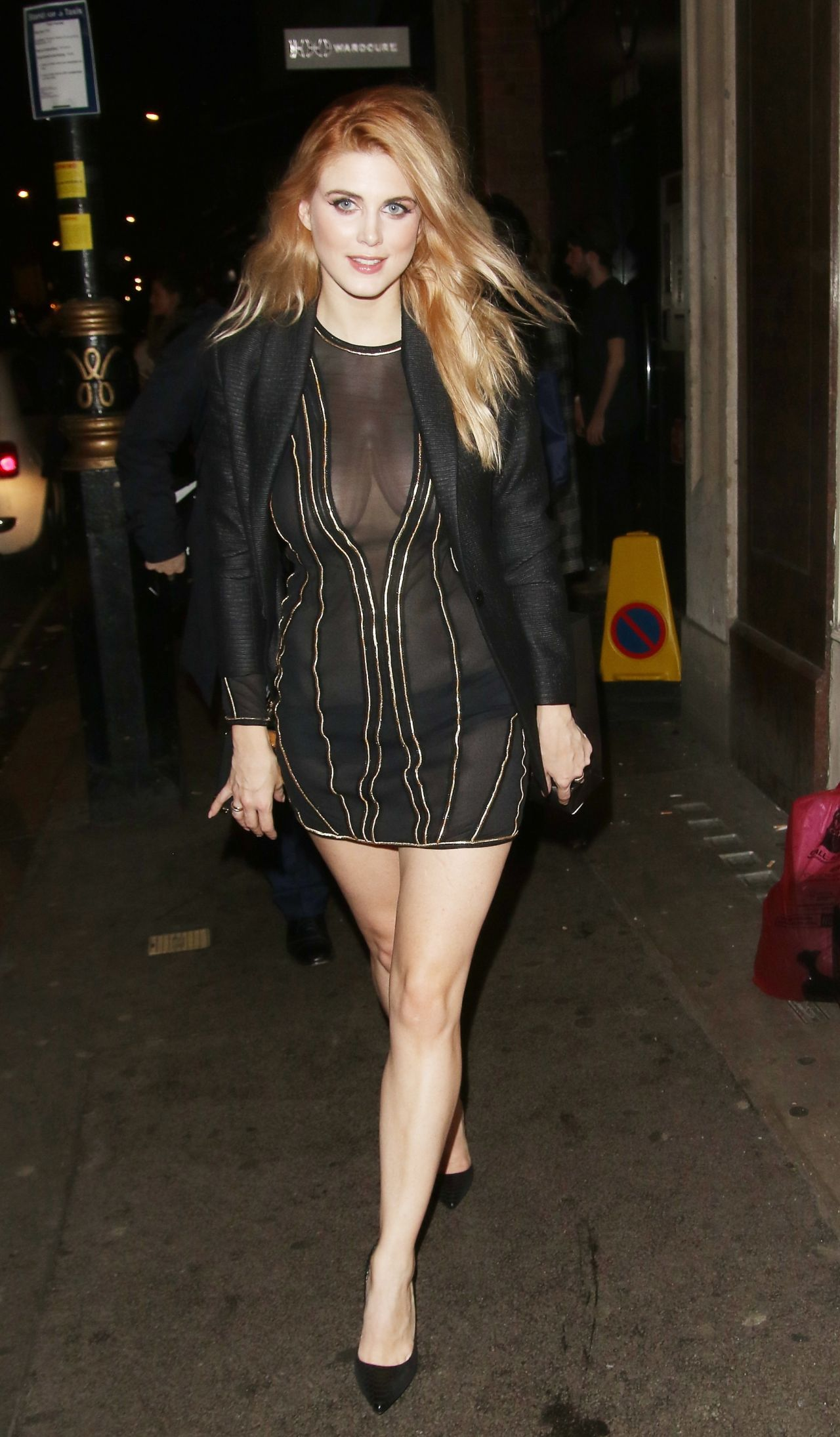 Ashley James – In Style EE Rising Star Award BAFTAS Party in London, February 2016