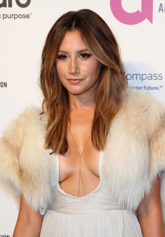 Ashley Tisdale – 2016 Elton John AIDS Foundation's Oscar Viewing Party in West Hollywood, CA