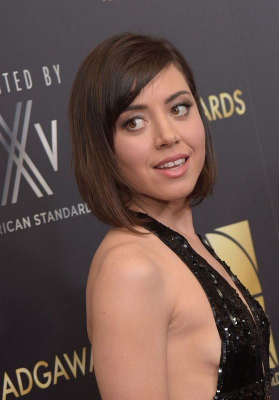 Aubrey Plaza - Art Directors Guild 20th Annual Excellence In Production Awards in Beverly Hills, 1/31/2016