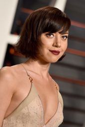 Aubrey Plaza – Vanity Fair Oscar 2016 Party in Beverly Hills, CA