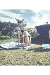 Audrey Whitby and Shelby Wulfert Bikini Instagram Pics, February 2016