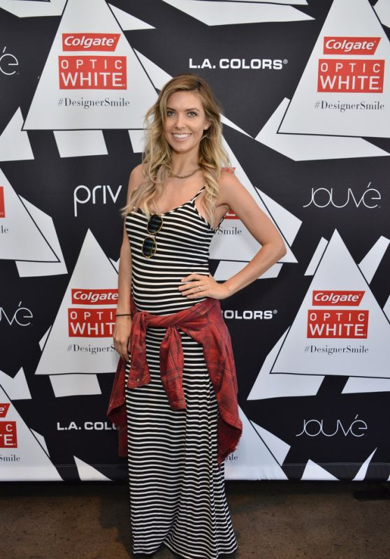 Audrina Patridge - Colgate Optic White Beauty Bar at Hudson Loft in Los Angeles 2/13/2016