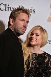 Avril Lavigne – 2016 Pre-GRAMMY Gala in Beverly Hills