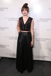Bailee Madison - BCBGMAXAZRIA Fall 2016 Fashion Show - New York Fashion Week 02/11/2016