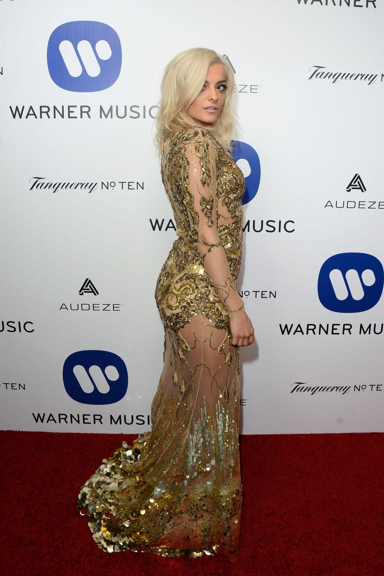 Bebe Rexha Warner Music Group Hosts Annual Grammy