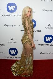 Bebe Rexha - Warner Music Group Hosts Annual Grammy Celebration in Los Angeles, February 2016