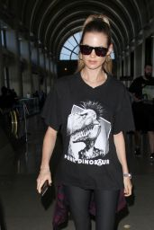 Behati Prinsloo - Arriving at LAX Airport in Los Angeles, CA 2/19/2016