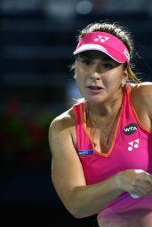 Belinda Bencic - WTA Dubai Duty Free Tennis Championship in Dubai 2/16/2016