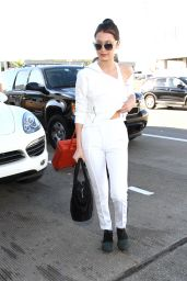 Bella Hadid - LAX Aairport in Los Angeles, CA 2/8/2016