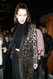 Bella Hadid Night Out - at The Nice Guy in West Hollywood 2/20/2016