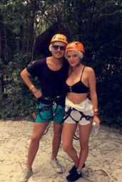 Bella Thorne Social Media Pics - Cancun, February 2016