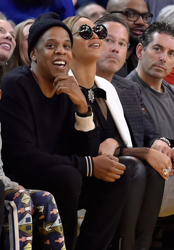 Beyonce - Oklahoma City Thunder vs. Golden State Warriors Game in Oakland, CA 2/6/2016