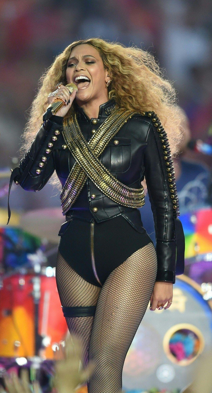 Beyonce Performing At The Pepsi Super Bowl 50 Halftime