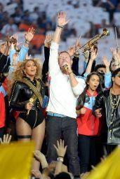 Beyonce - Performing at the Pepsi Super Bowl 50 Halftime Show in Santa Clara, CA