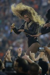 Beyonce - Performing at the Pepsi Super Bowl 50 Halftime Show in Santa Clara, CA
