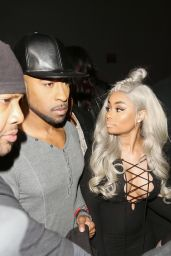 Blac Chyna Arrivals the Ace Of Diamonds in West Hollywood 2/1/2016