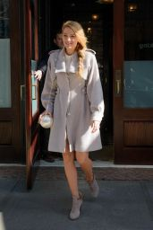 Blake Lively - Leaving Her hotel in New York City, NY 2/18/2016