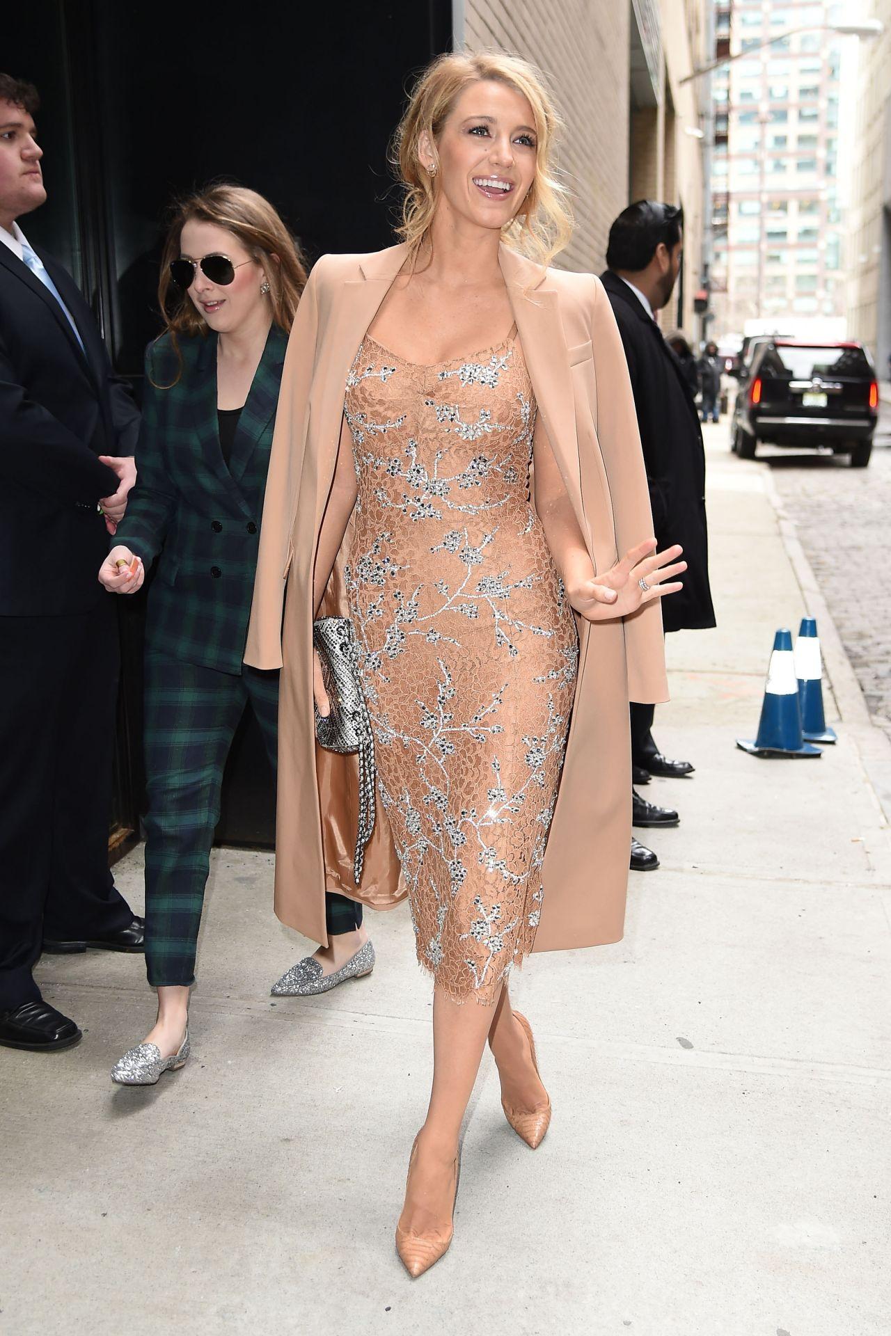 Blake Lively – Michael Kors Show – New York Fashion Week 2 ...