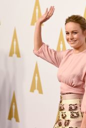 Brie Larson – Academy Awards 2016 Nominee Luncheon in Beverly Hills