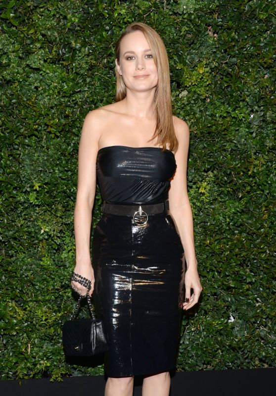 Brie Larson – Chanel and Charles Finch Oscar Party in Los Angeles, CA 2/27/2016