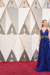 Brie Larson – Oscars 2016 in Hollywood, CA 2/28/2016