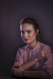 Brie Larson - Oscars Nominees Luncheon Portraits, February 2016