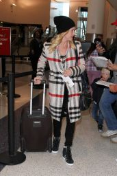 Brittany Snow at LAX Airport in Los Angeles 2/2/2016