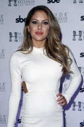 Brittney Palmer - UFC Octagon Girls at Hyde Bellagio in Las Vegas, February 2016