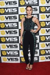 Camilla Luddington - VES Awards 2016