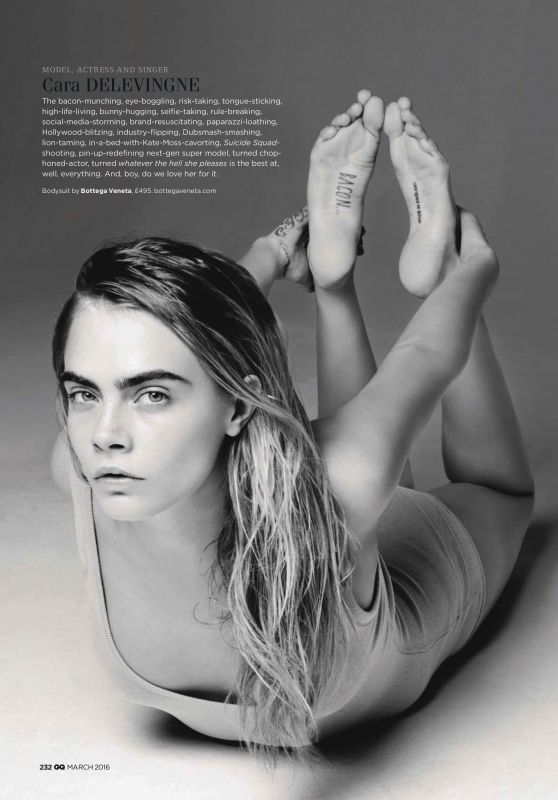 Cara Delevingne - GQ Magazine March 2016